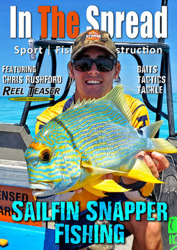 sailfin snapper fishing video in the spread chris rushford reel teaser